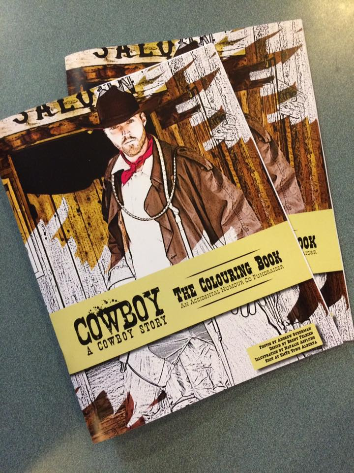 Cowboy Colouring Books!