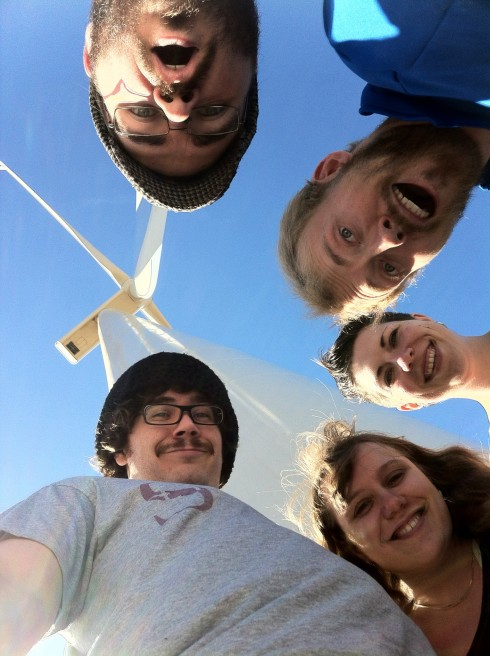 AccHumcast - Windmill Group Selfie