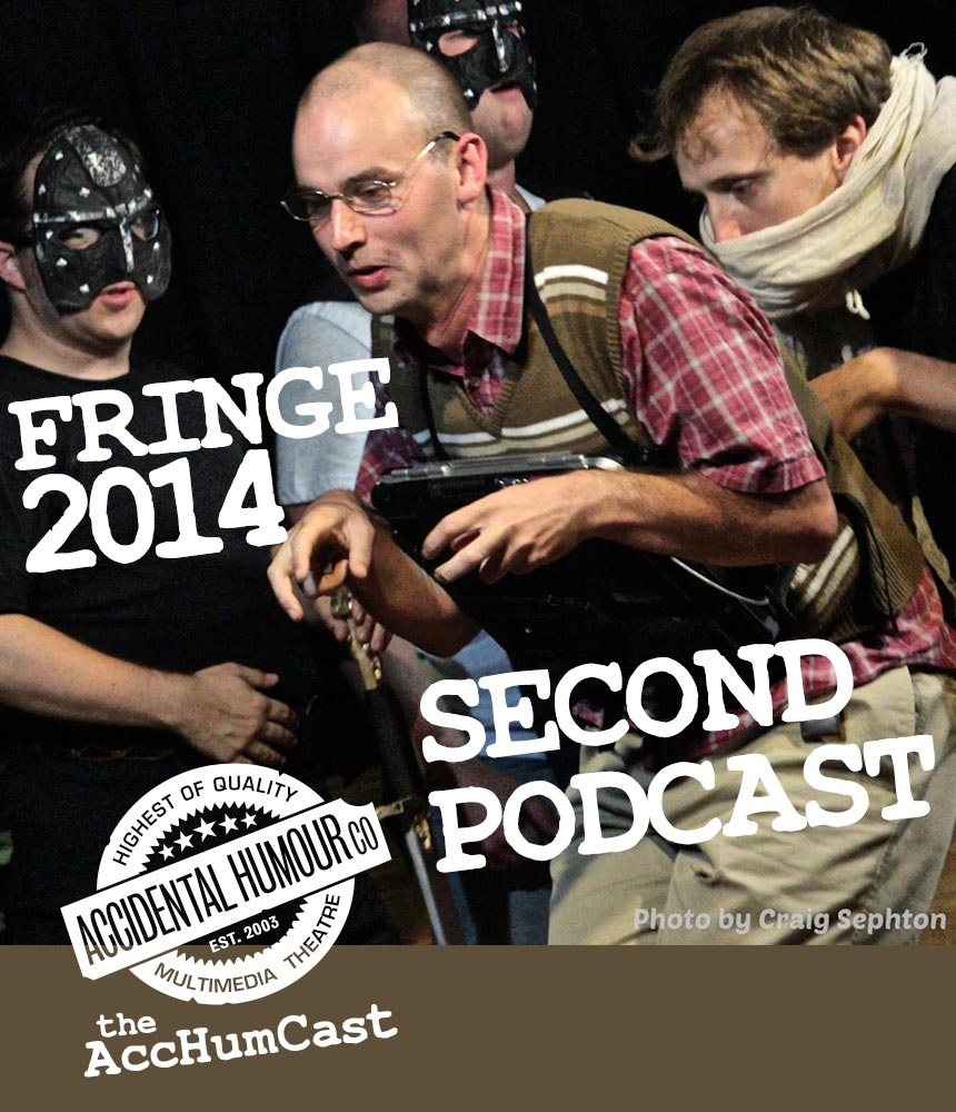 Fringe 2014 - Second Podcast